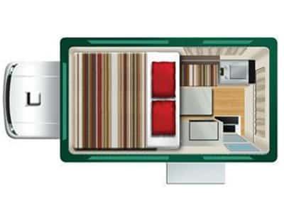 TUI-Bush-Camper-2-Berth-night-layout