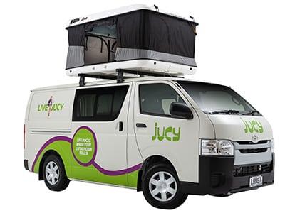 Jucy Compass Campervan – 4 Berth