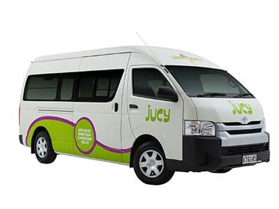 Jucy Coaster Campervan – 2 Berth
